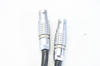 6 Pin Male to 6 Pin Male LEMO Patch Cables - Lot of 2 E-7-10583-z 3