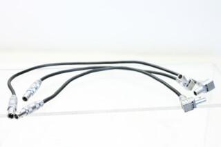 Lot of 3x Lemo Cables FFA.00 to FLA.00 (No. 2) EV-FS4-5245 NEW