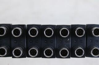 Lot with 6 pins Lemo connectors (No.4) FS27-7370-x 4