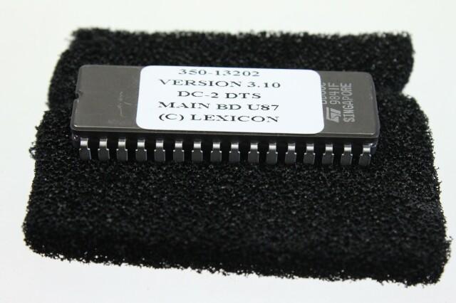 Chip V3.10 DC-2 DTS Main BD U87 F-blauw mandje/1530-VOF