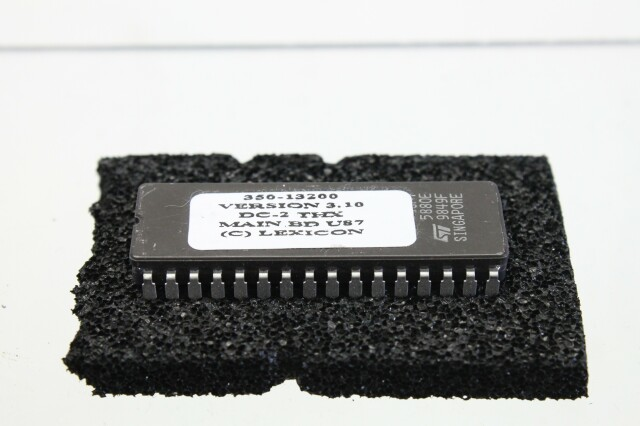 Chip V3.10 DC-2 THX Main BD U87 F-blauw mandje/1529-VOF