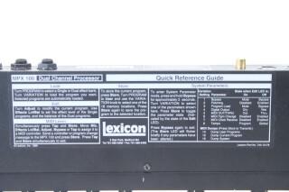 MPX 100 Dual Channel Processor EV-RK19-5269 NEW 4