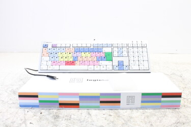 Avid Media Composer USB keyboard LXH-JME7596H /w 2x USB-ports German (No.2) JDH-C2-ZV16-6512 NEW