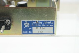 Ludwig Jahnke U110 - Amplifier Module for Leveling and Metering (No.2) D-5-6872-z 8