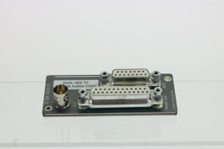 Dual AES To Analog Audio Converter - C DA 5220 D AXLC1-RK26-3685
