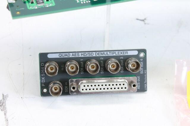 PDX 5264 D Quad AES HD/SD Demultiplexer BVH2 L-12506-BV