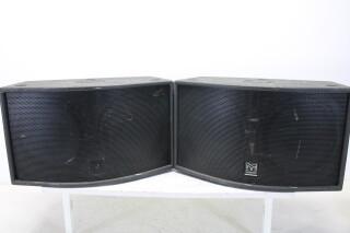 """Martin Audio ICT300 Speaker Set 2x 10"""" JDH-C2-T-5935 NEW"""