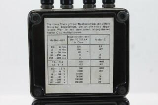 Tavocord TC-1000 DC AC Volt Ampere Meter KAY B-1-13619-bv 8