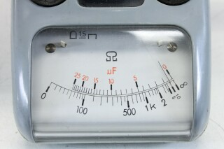 Very Small Pocket Ohm-capacity meter KAY B-1-13617-bv 3