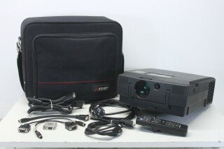 LVP-X120E LCD Projector - with Lots of Accessories in a Very Nice Bag O-11391-z