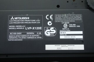 LVP-X120E LCD Projector - with Lots of Accessories in a Very Nice Bag O-11391-z 12