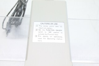 Remote Control Unit for Video Applications (939P206B2) A-9-10939-z 5