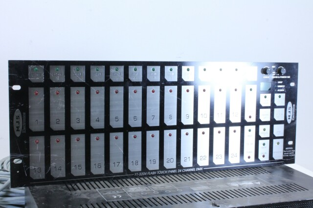 PP.1012P 12 Channel switcher With Flash Touch BS Witte kast-11945-BV
