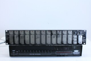 PP.1012P 12 Channel switcher With Flash Touch BS Witte kast-11945-BV 6