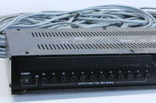 PP.1012P 12 Channel switcher With Flash Touch BS Witte kast-11945-BV 8