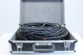 Suitcase Filed With PA Cables and Speaker Cables In Various Length BVH2 VLG-11803-BV 2