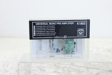 Mono audio pre-amp kit K1803 NEW/SEALED TCE-ZV14-MAND-6559 NEW