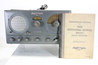 Model NC-57 M Radio Receiver with Instruction Manual EV-P-4182 NEW