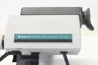 WV-3085E Portable Video Camera With Cannon Lens L-8334-x 2