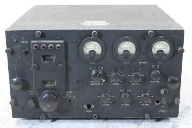 Navy Department Bureau Of Ships Radio Receiver Model RCK HEN-ZV-22-6101 NEW