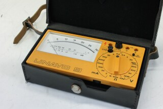 Unavo 9 Multimeter in Leather Case with Manual KAY B-10-13712-bv 9