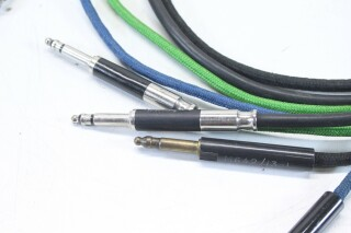 Bantam TT 4mm Patchcables with Neutrik and Switchcraft Plugs - Lot of 3 KM-1-12469-vof 3