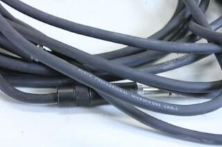 Klotz 6,3mm patch cable - length 3m - lot of 2 - With Neutrik NP3TB plugs (No.2) KM1-11112-z 3