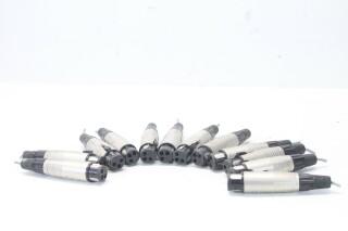 Neutrik Female XLR Plugs - Lot of 12 (No.1) EV A-1-14248-bv