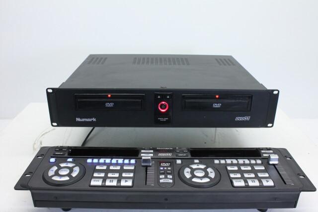 Dual DVD Player - DVD-01 HVR-RK7-3857