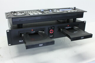 Dual DVD Player - DVD-01 HVR-RK7-3857 4