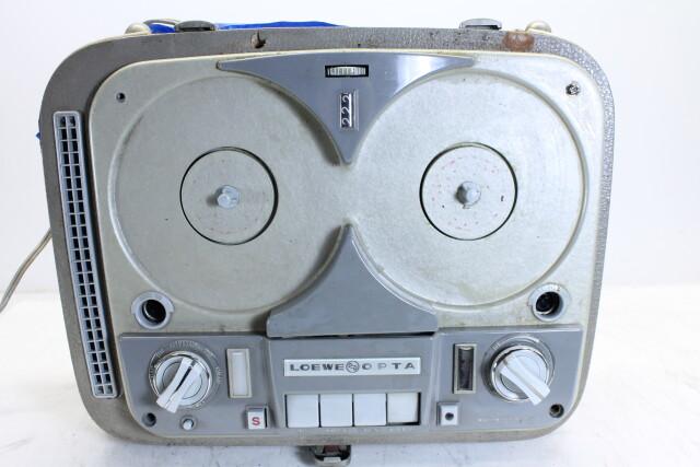 Opta Reel to Reel Tape Recorder in case HEN-J-4366 NEW