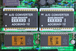 Aux - Analog Card With Burr-Brown A/D Converter ADC80AG-12 and PCM53JP-V EV-ZV4-5271 NEW 2