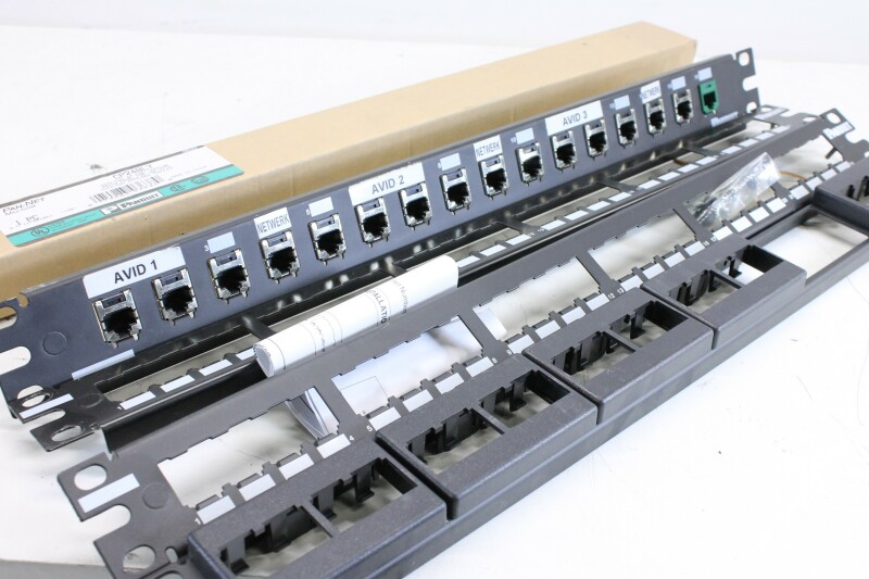Panduit CP24BLY - 24 Port Patch Panel Lot