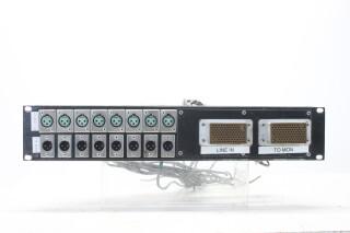 XLR Studio Patch Panel (2) EV-RK21-5173 NEW