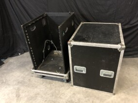 Flightcase with 16HE 19 Inch Rack and Top Mount for Mixer HVR-VL-4081 NEW