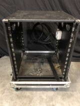"13 HE 19"" Rack in Flightcase (no. 3) HVR-VL-4083"