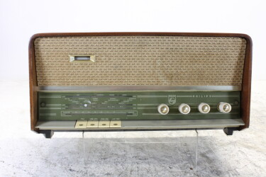 B3X02A/01 vintage tube radio 1960-1961 BLW-ORB4-6783 NEW