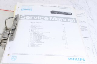 CD Player service manuals for Multiple Series F-6139-x