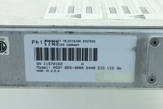 MARS BDS 300A Digital Video Switcher JDH ORB -3-9179-x 9