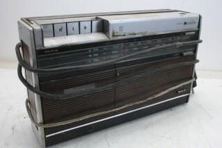 RR 512 Vintage Radio/Cassette Deck For Parts MARS L-13716-BV