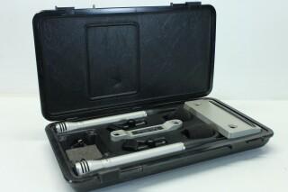 Stereo Pair N 8410 Electret Hi-Fi Microphones in Original Box JDH D-2-9171-x