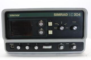 Internav Navigation System Simrad LC204 HEN-OR-14-4754 2