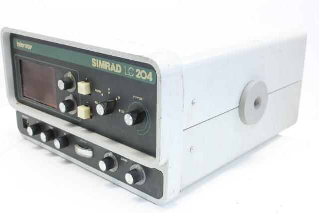 Internav Navigation System Simrad LC204 HEN-OR-14-4754
