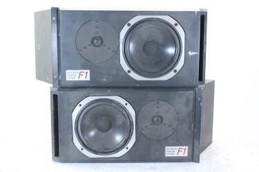 Reference Monitor Speaker Set From Broadcast Van JDH-C2-ZV-21-6091 NEW