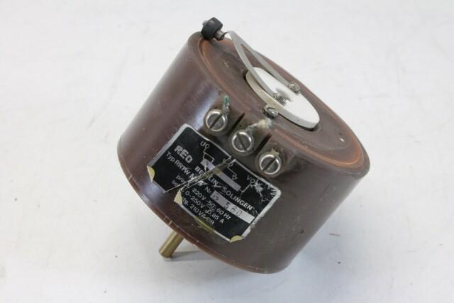 RRTW M4 Autotransformer/Variac (No.1) KAY K-17-13687-bv