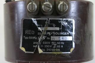 RRTW M4 Autotransformer/Variac (No.1) KAY K-17-13687-bv 4