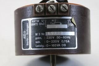 RRTW REOVAR M3 Autotransformer/Variac (No.1) KAY K-17-13684-bv 4