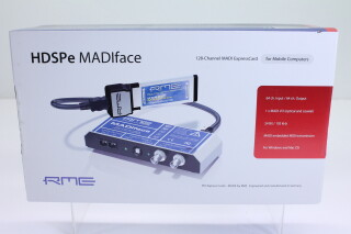 HDSPe MADIface + 128-Channel ExpressCard AXLC1-RK26-3574 NEW