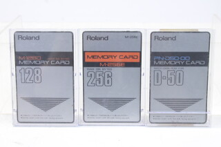 D-50 Memory Card Set M-1280 128, M-256E 246, PN-D50-00 TCE-S-4761 NEW