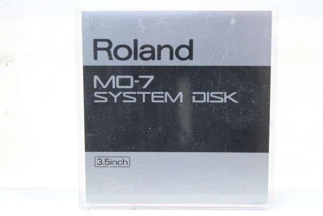 MO-7 System Disk 3.5 Inch TCE-S-4763 NEW